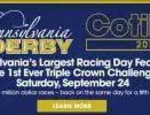 Nyquist and Exaggerator lead the field in the PA Derby