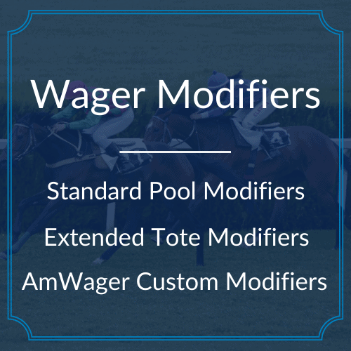 Wager Modifiers