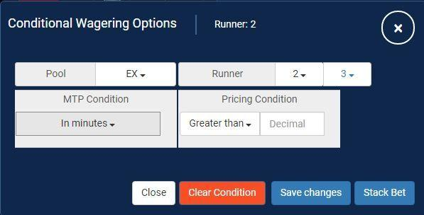 conditional wagering