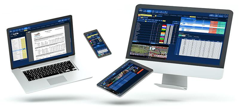 If you want to know how to bet on horses, you can do it online or at the track.
